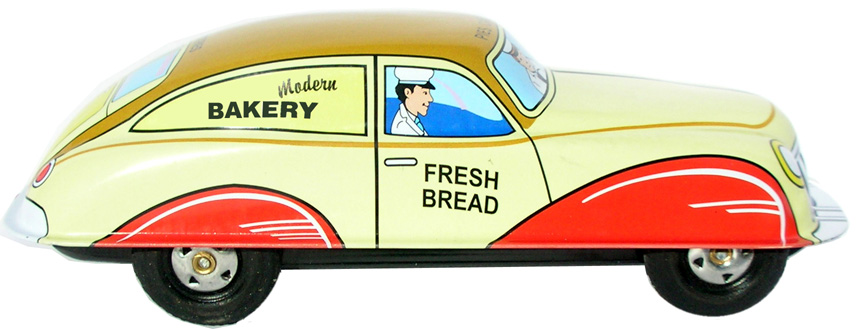 MODERN BAKERY CAR