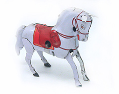 CHEVAL BLANCHE