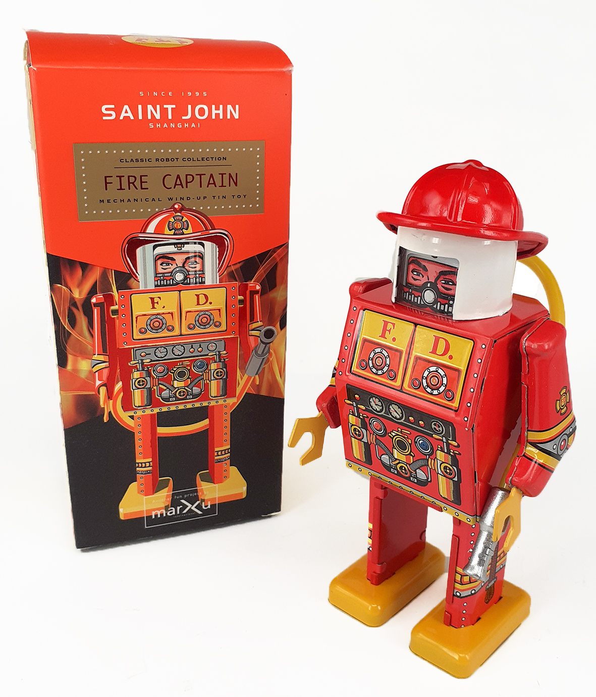 ROBOT FIRE CAPTAIN