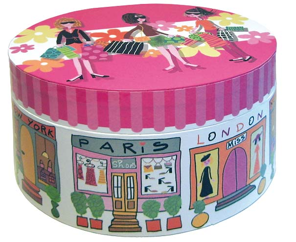 OVAL MUSIC BOX GIRLS